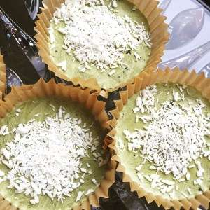 Green Tea Frozen Yogurt Breakfast Cups